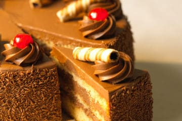 Deluxe Creme Cake sabor Chocolate
