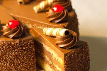 Deluxe Creme Cake sabor Chocolate